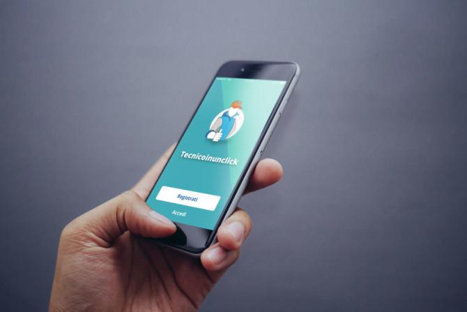 tecnico in un click app